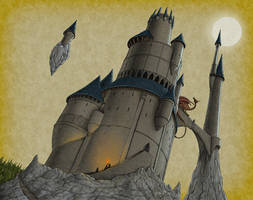 Tower of Wizardry by quellion
