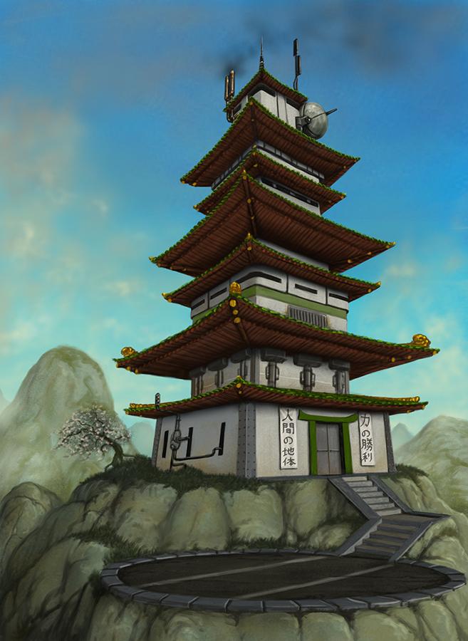 Watchtower by quellion