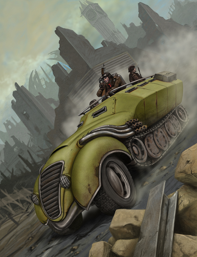 Military Transport by quellion
