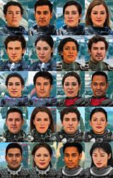 MegaMek Pilots Portraits
