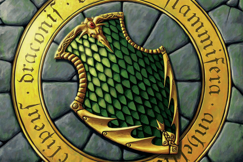 Dragon Shield by quellion