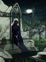 Shadow Elf by quellion