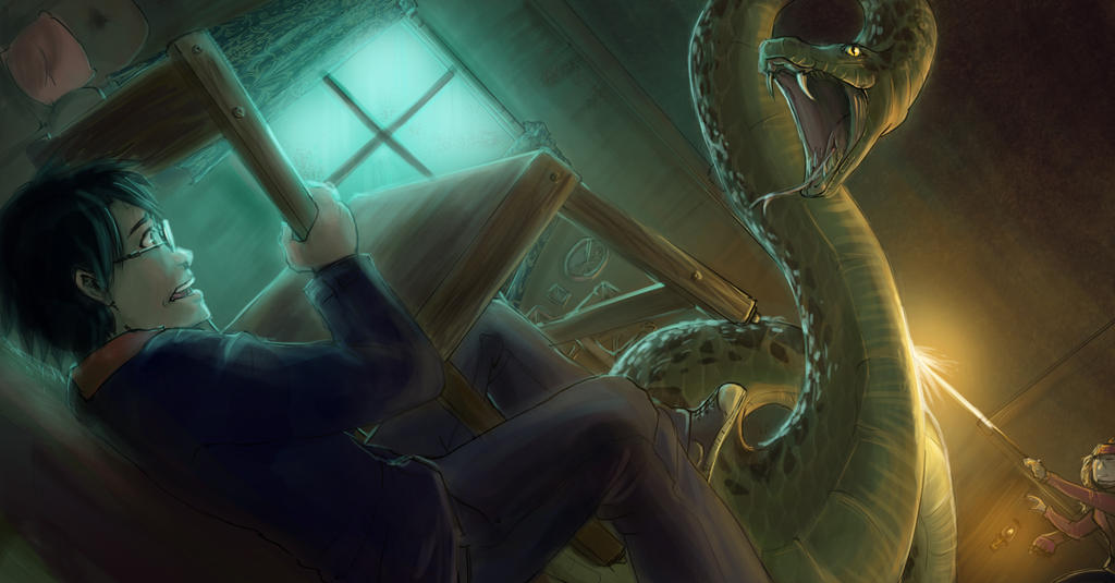 The incident in Godric's Hollow