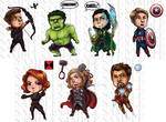ChibiAvengers: Some Assembly Required