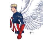 Angel!Steve quickie