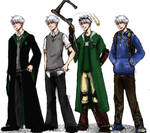The Big Four: Jack Frost outfits