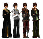 The Big Four: Hiccup's outfits