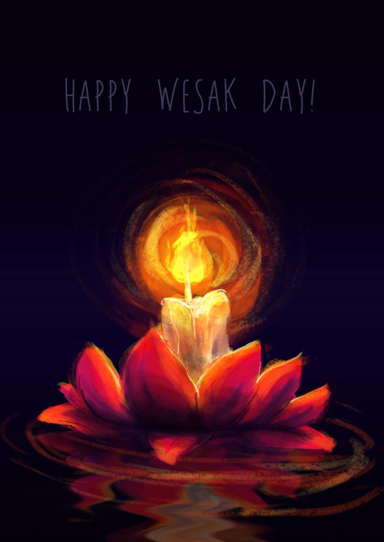 Happy Wesak Day! by ZLynn on DeviantArt