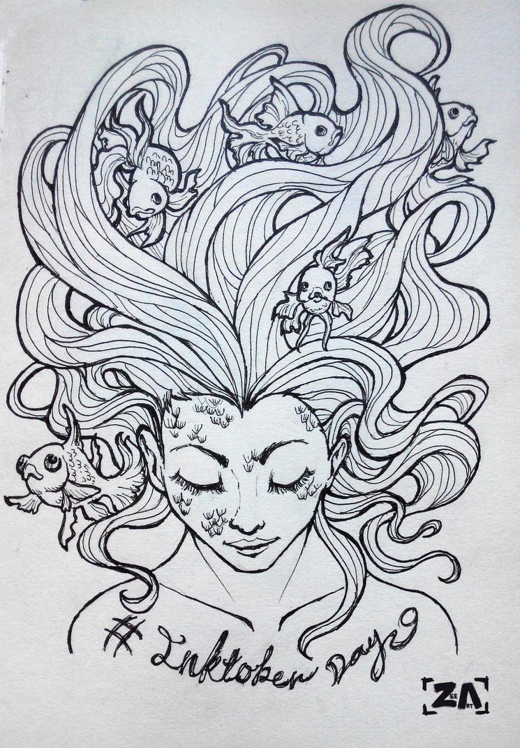 Inktober: Can't getcha outta my head by ZLynn
