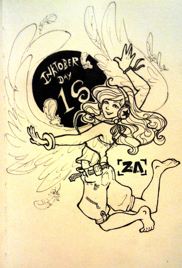 Inktober: Dance like you're free! by ZLynn