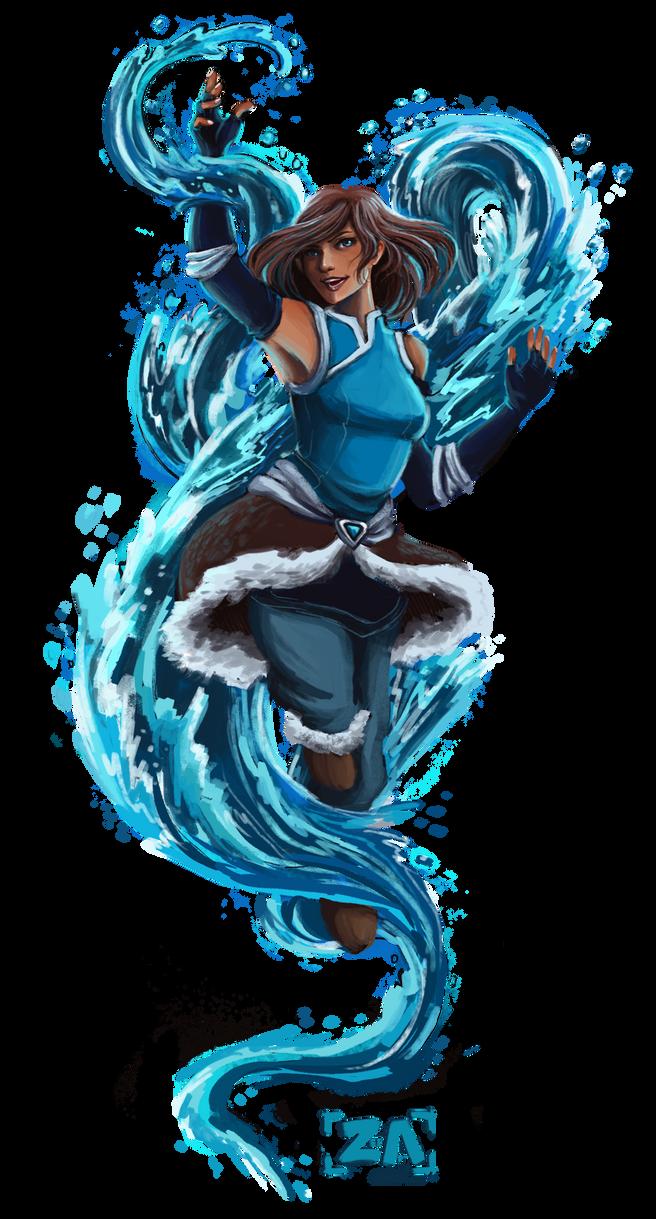 Avatar Korra by ZLynn