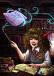 Reading: Hogwarts Library
