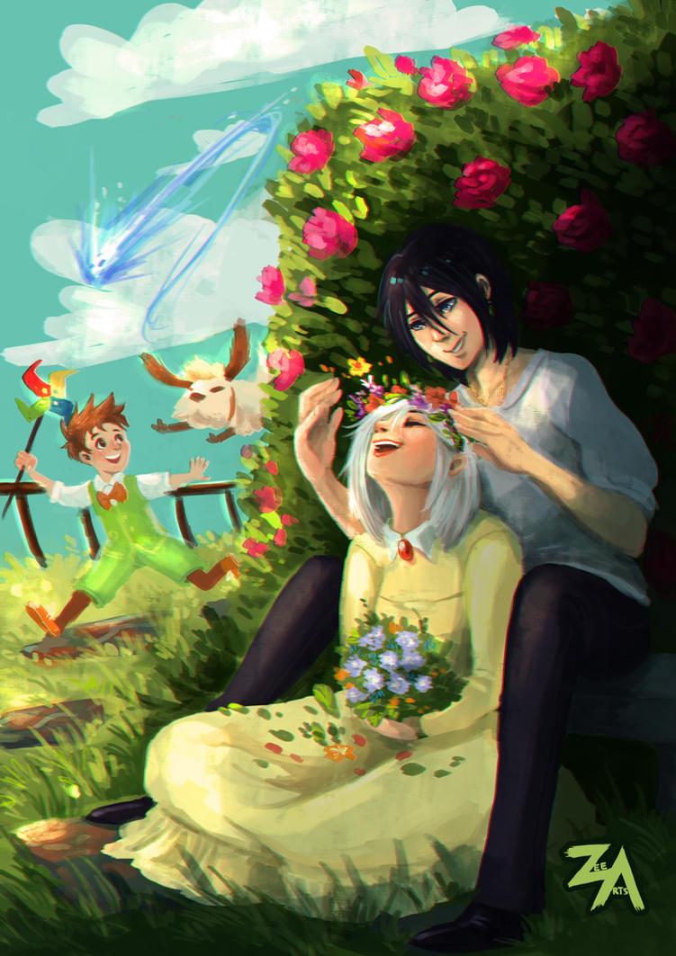 Garden in the Sky by ZLynn
