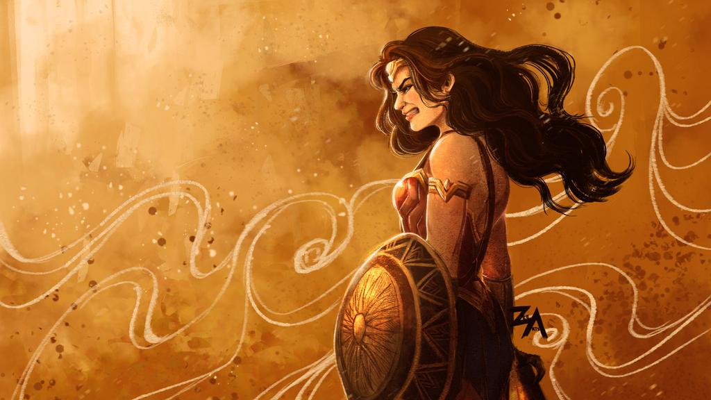Wonder Woman's Wrath by ZLynn