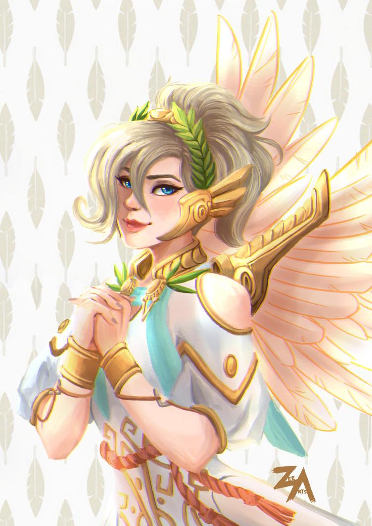 Goddess of Victory by ZLynn