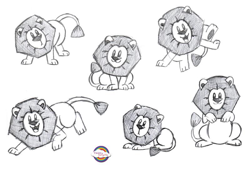 cute lion drawing tumblr wwwpixsharkcom images