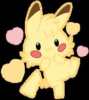 Chibi Pikachu by Daieny