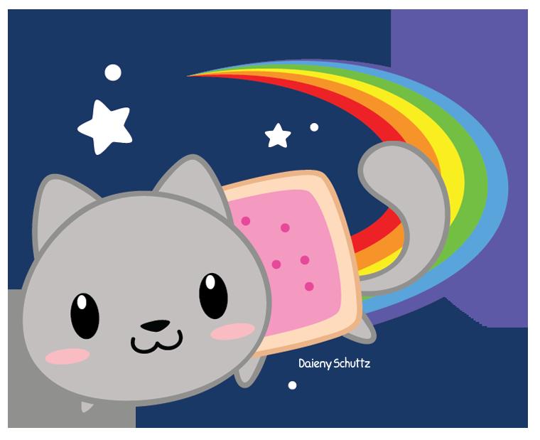 Nyan Cat Chibi Collection 17 Wallpapers