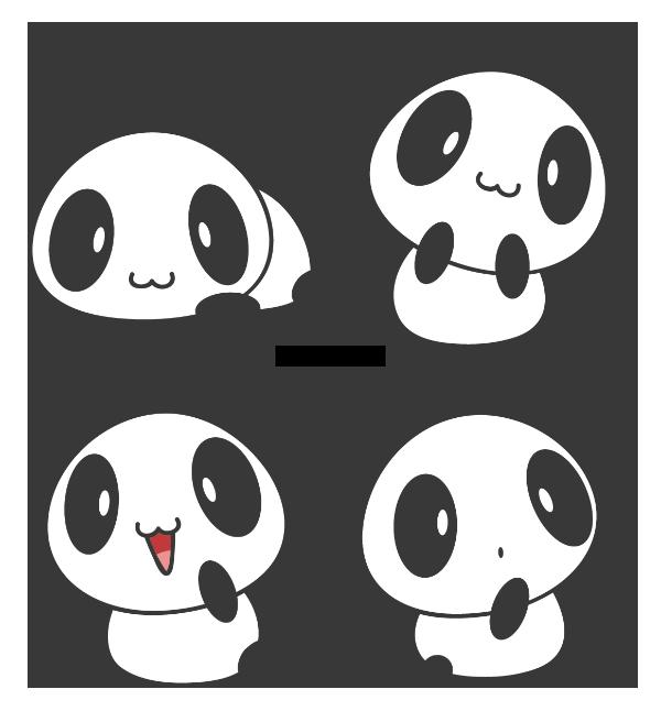 Little Panda by Daieny