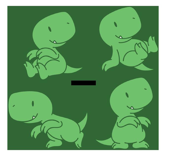 Chibi Carnivorous Dinosaur by Daieny