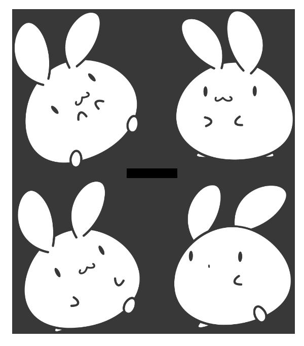 White Bunny by Daieny