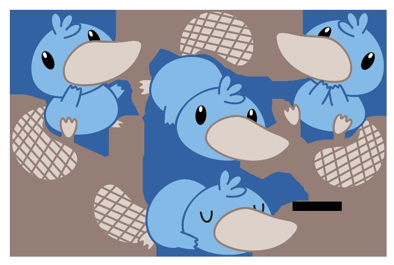 Blue Duckbill by Daieny
