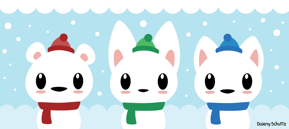 Winter Pals by Daieny