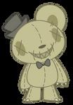 Macabre Bear Plushie