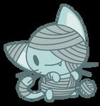 Chibi Mummy Cat