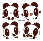 Rounded Panda