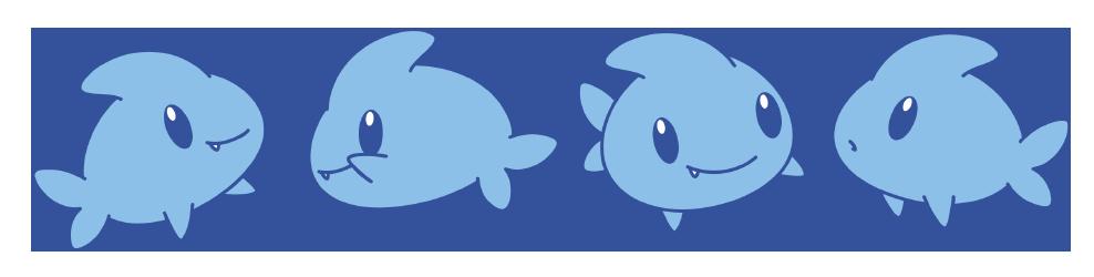 Blue Shark by Daieny