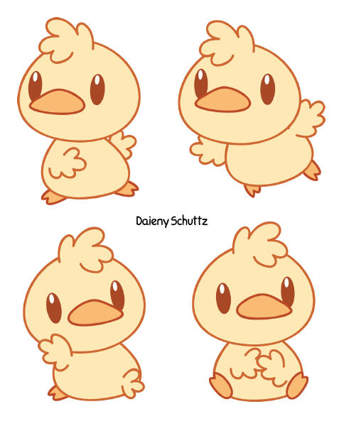 Duck by Daieny