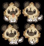 Chibi African Wild Dog