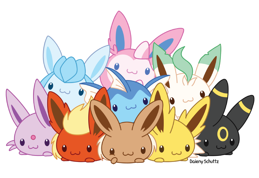 GLACEON! where are you?! — Búsqueda familia Dupont (1/1) Eevolutionf_by_daieny-d9o1v7x