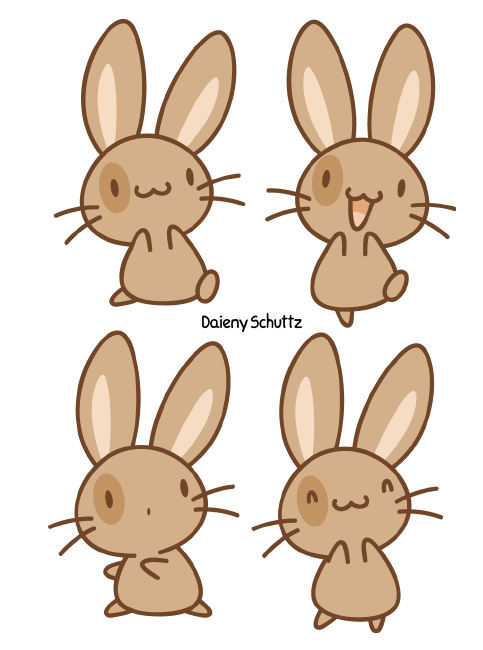 brown bunny by daieny on deviantart