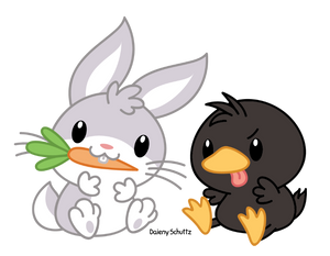 Bugs and Daffy