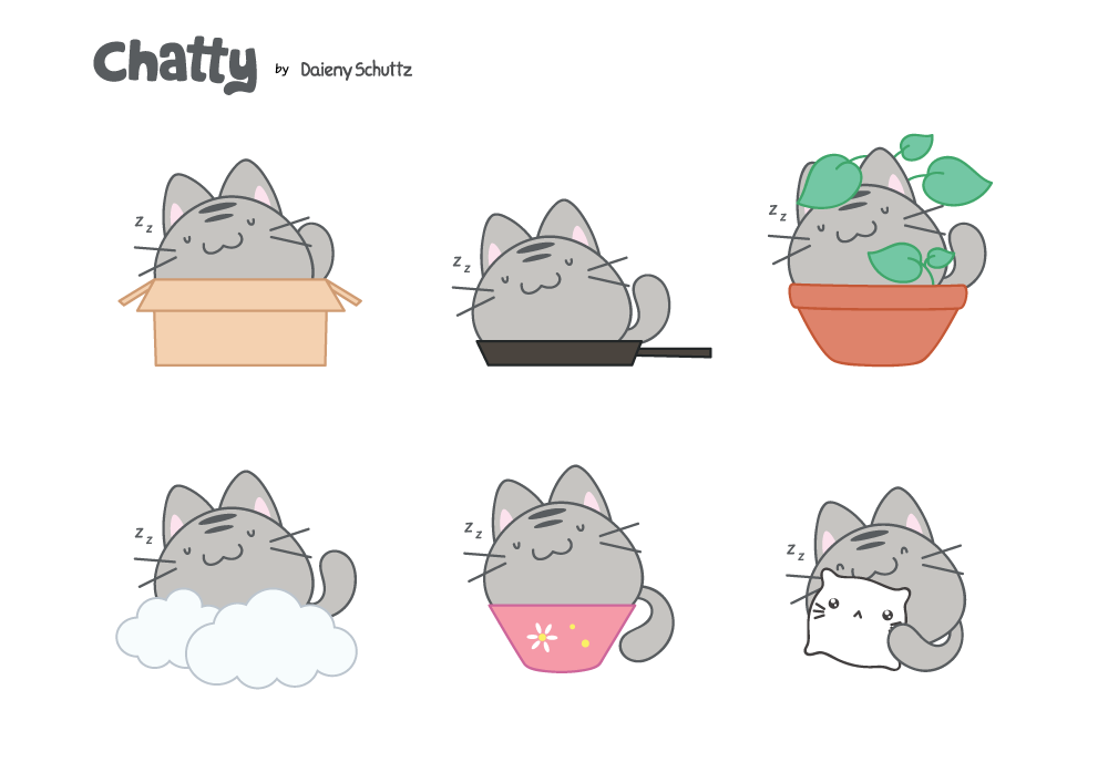 Chatty #43 by Daieny