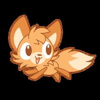 Running Fox by Daieny