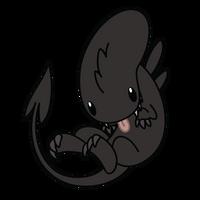 Chibi Alien by Daieny