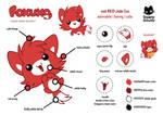 Foxuxo Reference Sheet by Daieny
