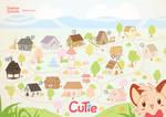Amealot - Cutie City by Daieny