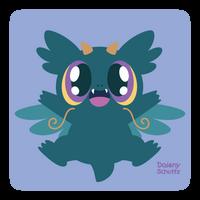 Super Cute Dragon by Daieny