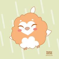 Fluffy Owl by Daieny