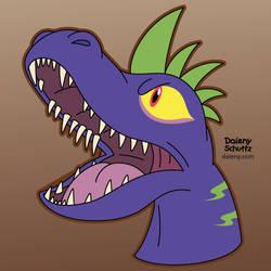 Terror Lizard by Daieny