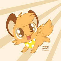 Runningfox by Daieny