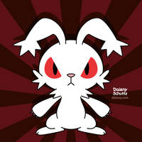 Bunny Attack by Daieny