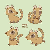 Cute Coati by Daieny