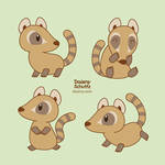 Cute Coati