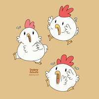 Panic Chickens by Daieny