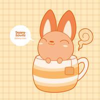 Tea Fox by Daieny